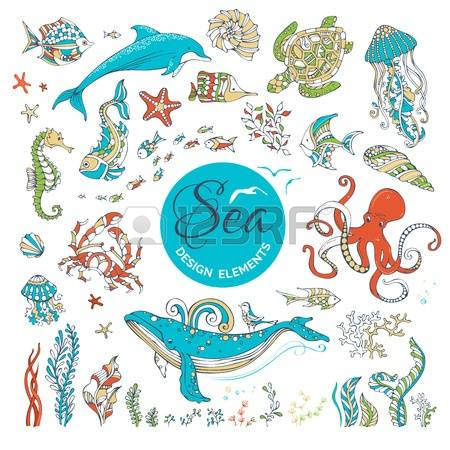1,553 Seahorse Sea Life Stock Vector Illustration And Royalty Free.