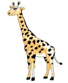 Giraffe Clip Art.