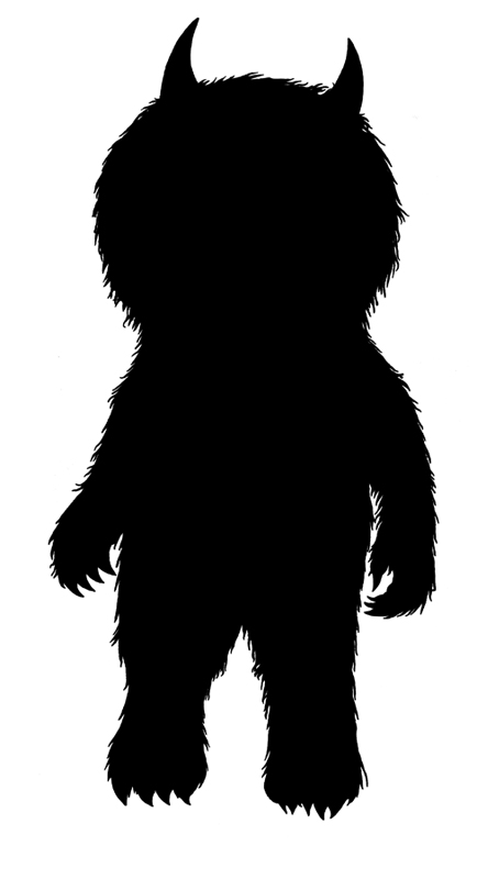 Free Where The Wild Things Are Monster Silhouette, Download.