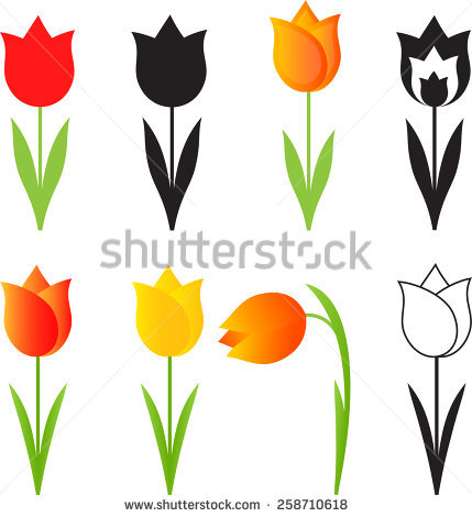 Tulip Stock Vectors, Images & Vector Art.
