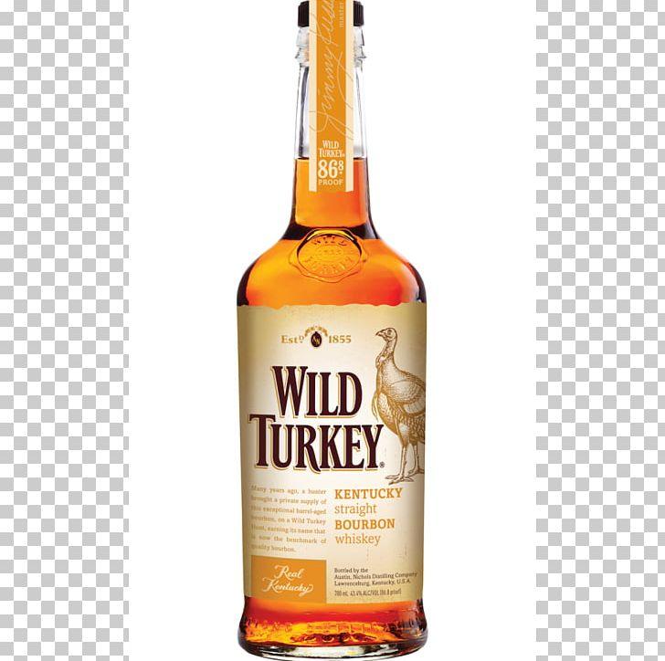 Wild Turkey Bourbon Whiskey Rye Whiskey Distilled Beverage.
