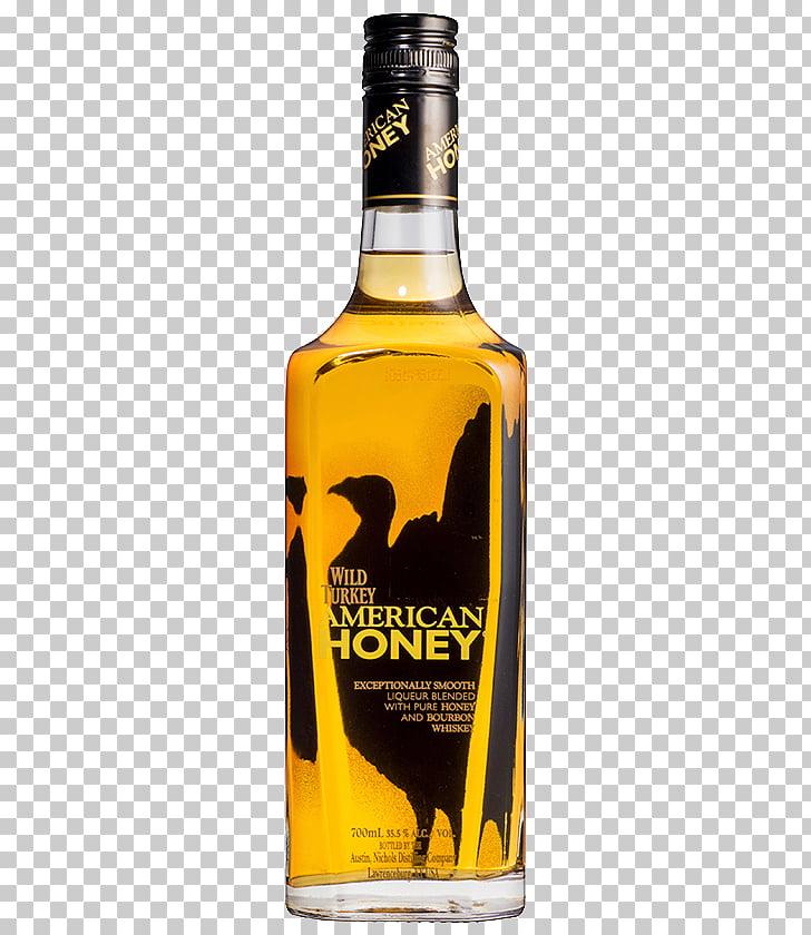 Wild Turkey Bourbon whiskey American whiskey Distilled.