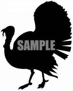 Wild Turkey Clip Art.