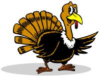 Wild turkey clip art free.
