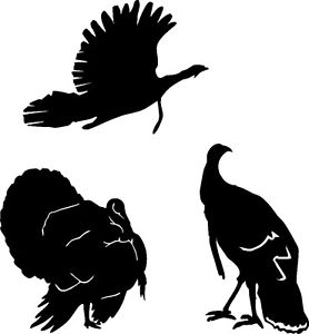 Flying Turkey Silhouette at GetDrawings.com.