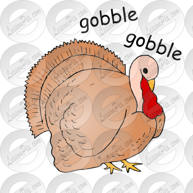 Gobble Picture for Classroom / Therapy Use.