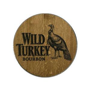 Details about Wild Turkey Bourbon Whiskey Logo Golf Ball Marker.