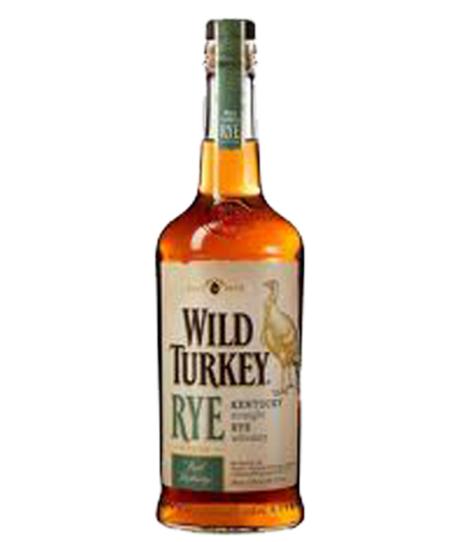 Wild Turkey Rye 81 Whiskey.