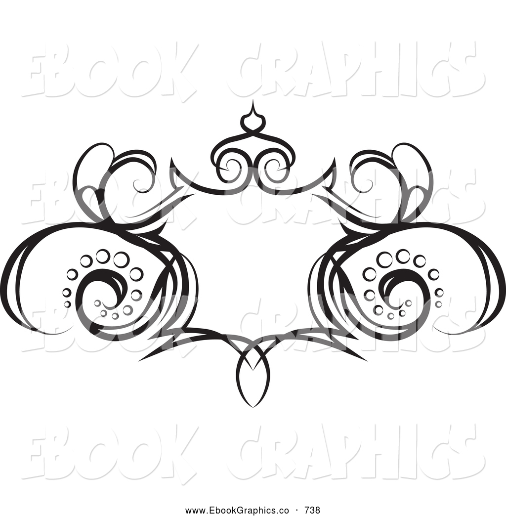Flower Vine Coloring Pages, floral vine clip art at vector clip.