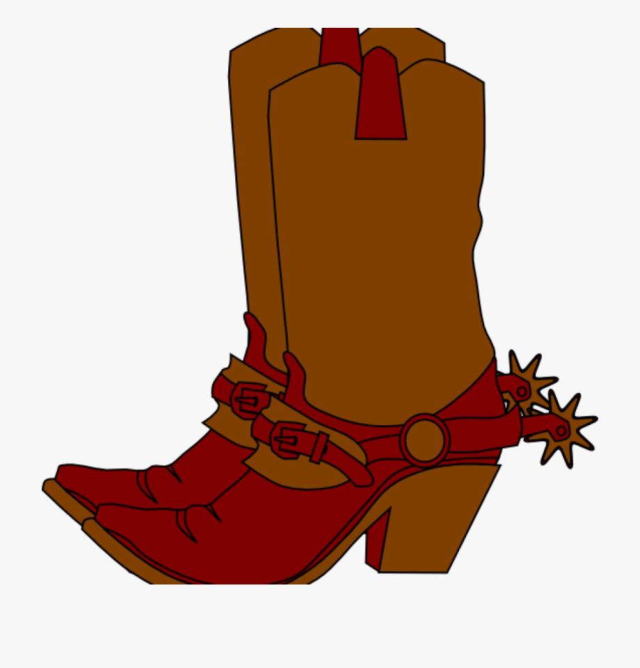 Cowboy Boots Clipart Free Cute Cowboy Boots Clipart.