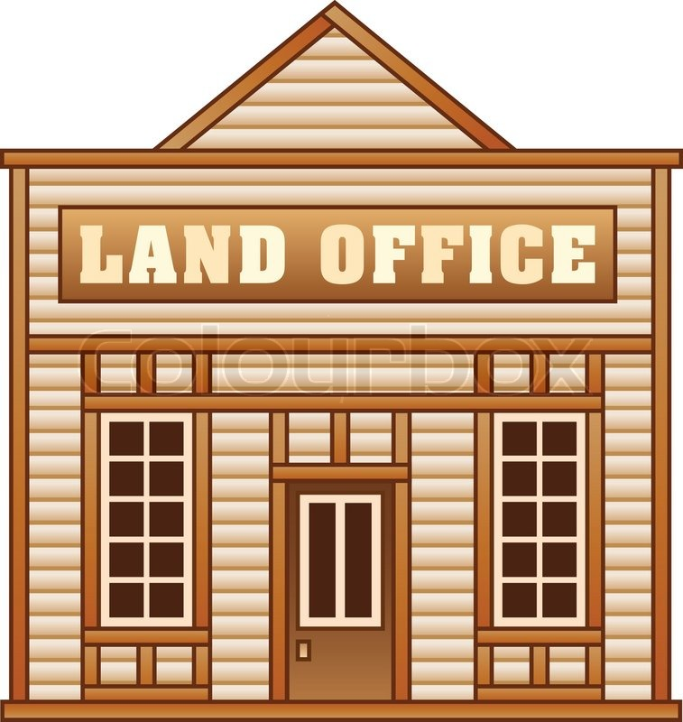 Land office from Wild West for game.