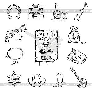 Wild West Icons.