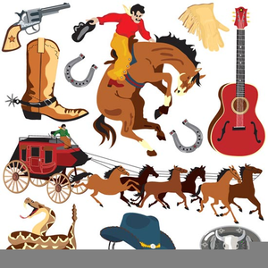 Free Printable Wild West Clipart.