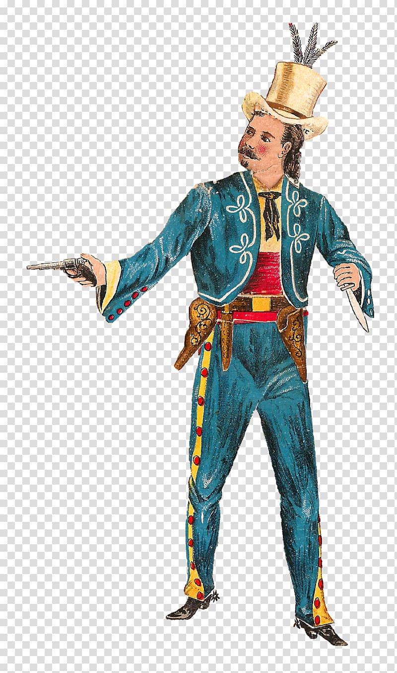 American frontier Gunfighter Cowboy , wild west transparent.