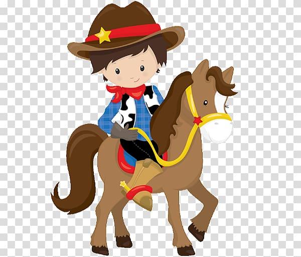Cowboy Western Horse Party Birthday, horse transparent.