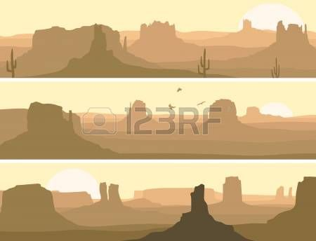 Image result for arizona desert scape clipart.