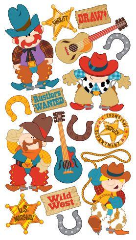 Wild West Sticko Stickers.