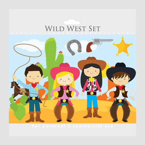 Wild west clipart.