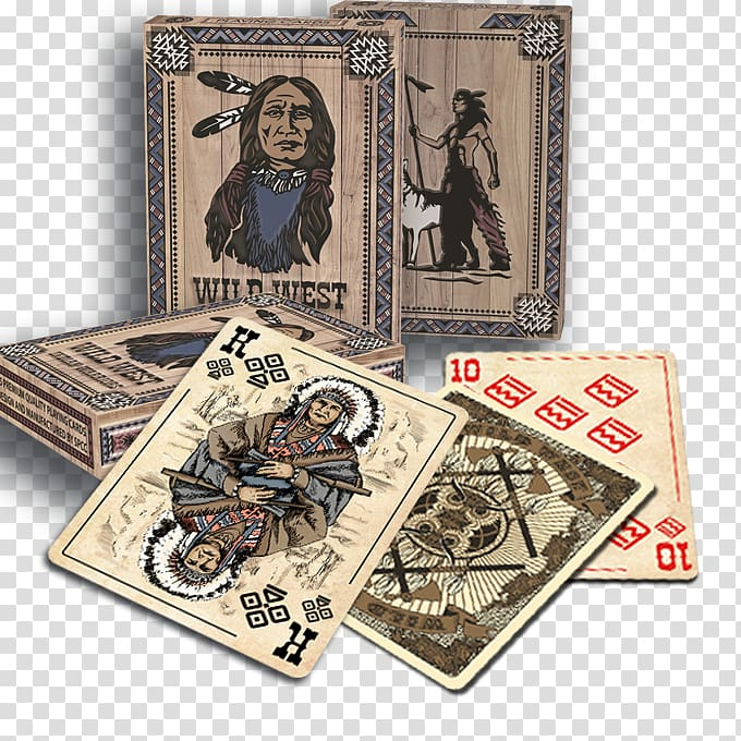 Playing card Game Homo sapiens Back to Wild West Mississippi.