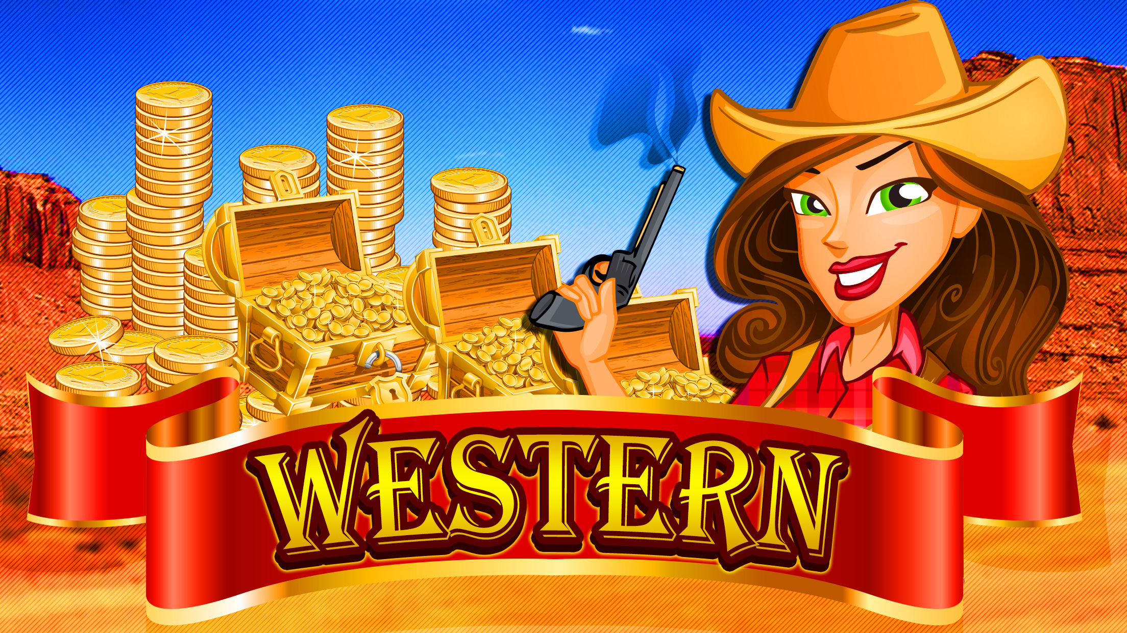 Wild West Romance Luck.