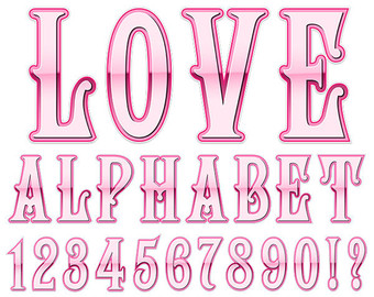 Western Alphabet Clipart Wild West Letters Clipart by skaior.