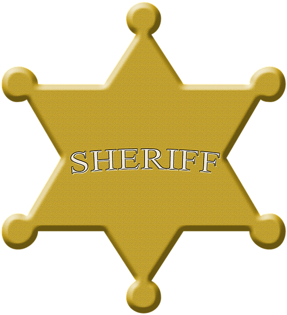 Star, Sheriff, Sheriffstern, Wild West, Symbol, Police.