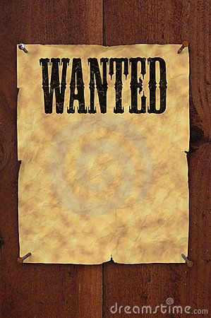 Free Old Western Wanted Posters.