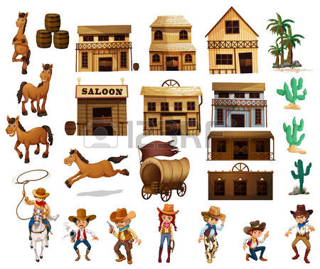 12,805 Wild West Stock Vector Illustration And Royalty Free Wild.