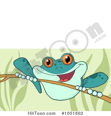 Wild Frog Clipart.