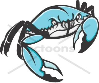 Wild Blue Crab.