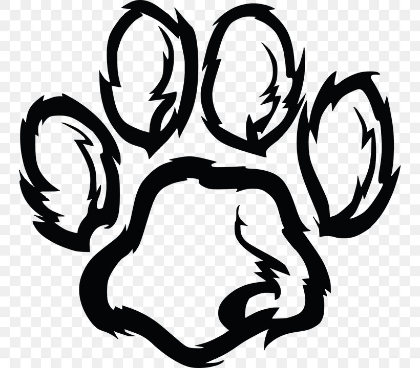 Wildcat Tiger Clip Art, PNG, 745x720px, Wildcat, Black And.