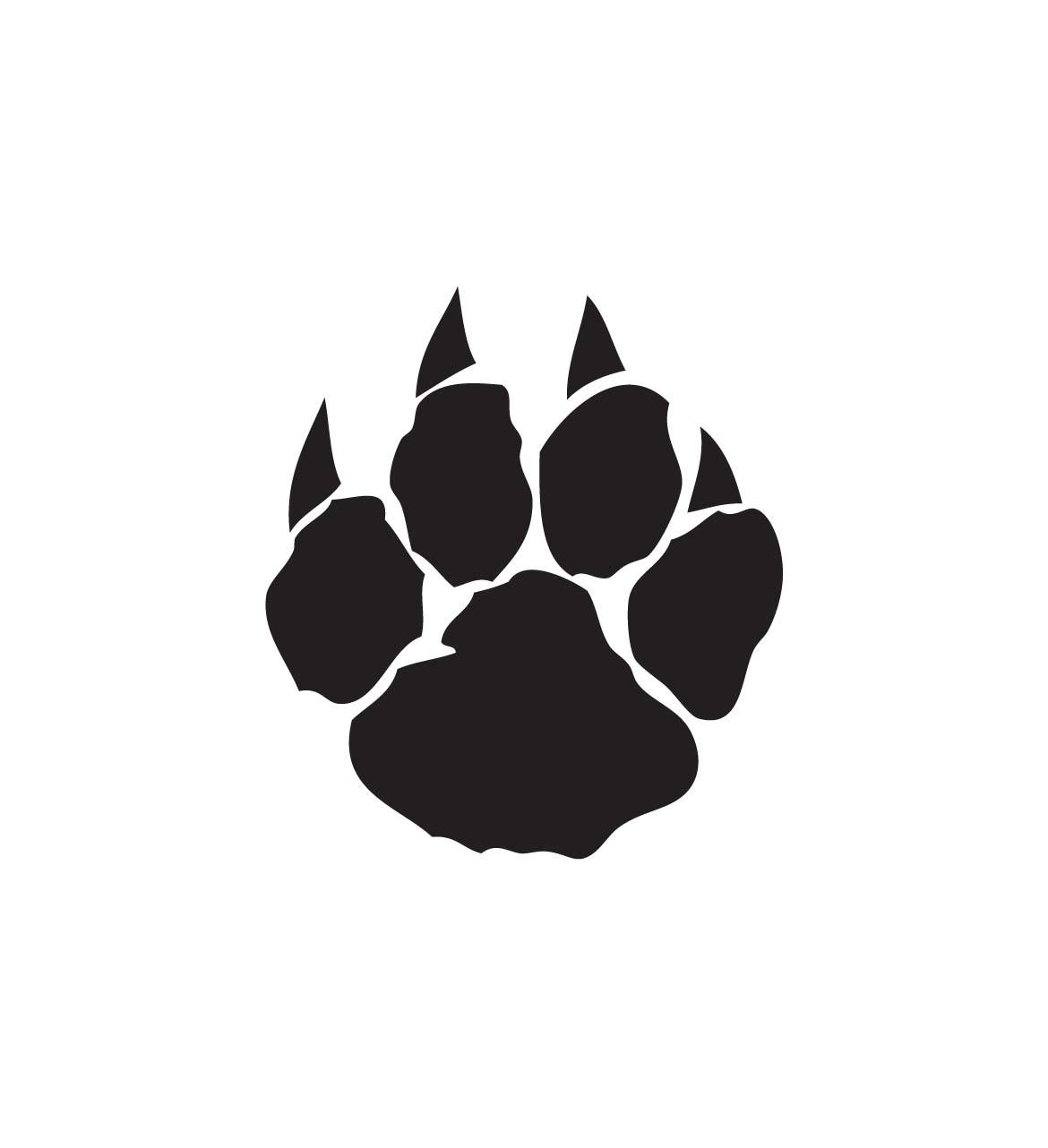 Wildcat Paw Print.