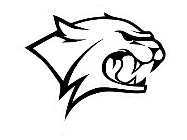 Wildcat Outline Clip Art at Clker.com.
