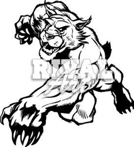 Wildcat Clip Art.