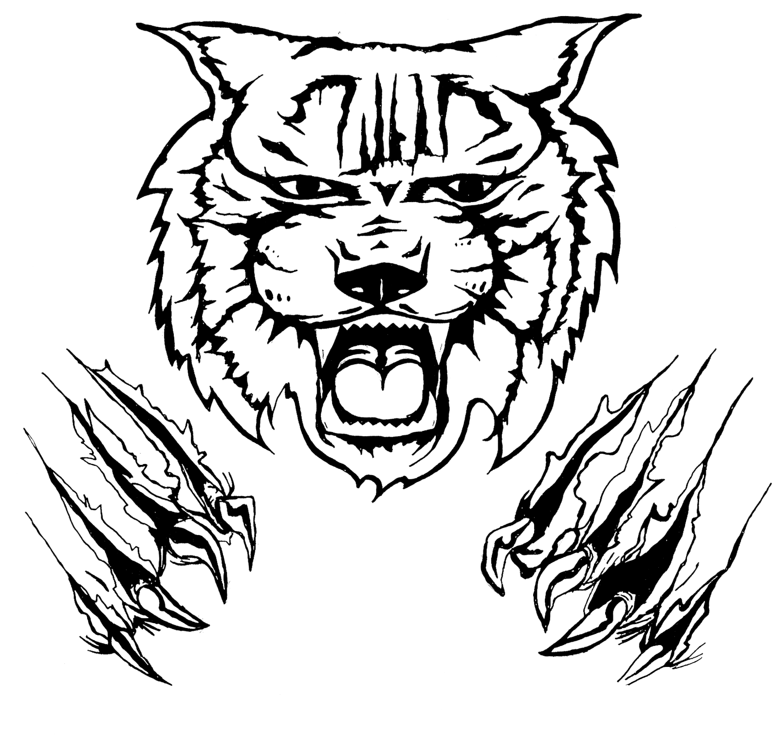 Free Wildcat Face Cliparts, Download Free Clip Art, Free.