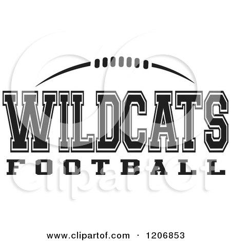 Wildcat Football Clipart.