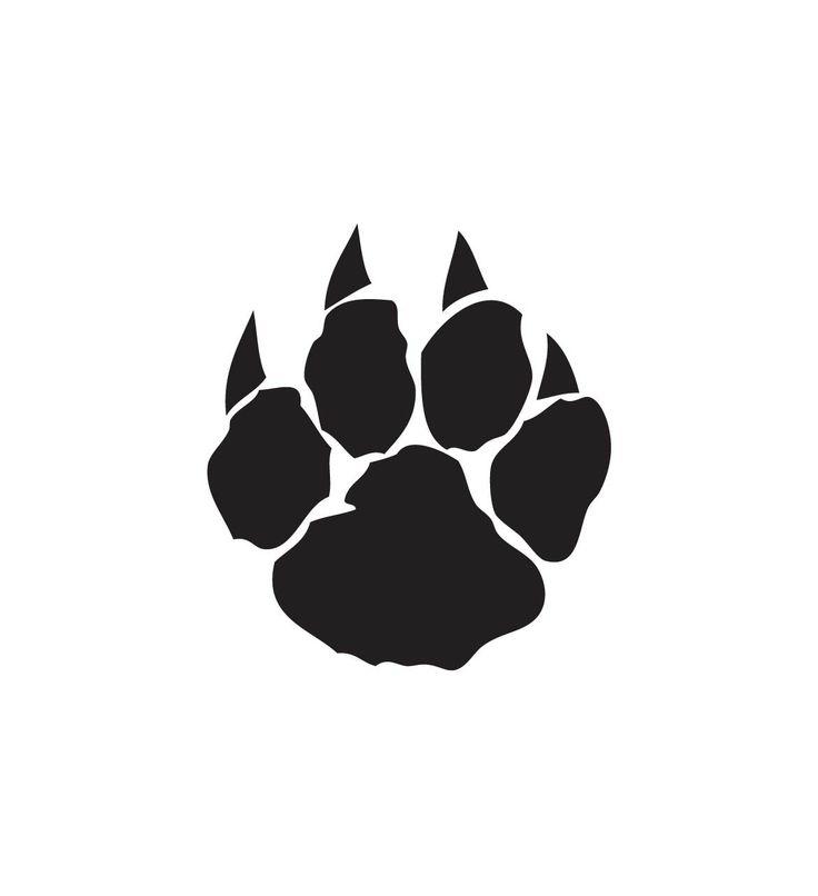 Free Wildcat Paw Print, Download Free Clip Art, Free Clip.