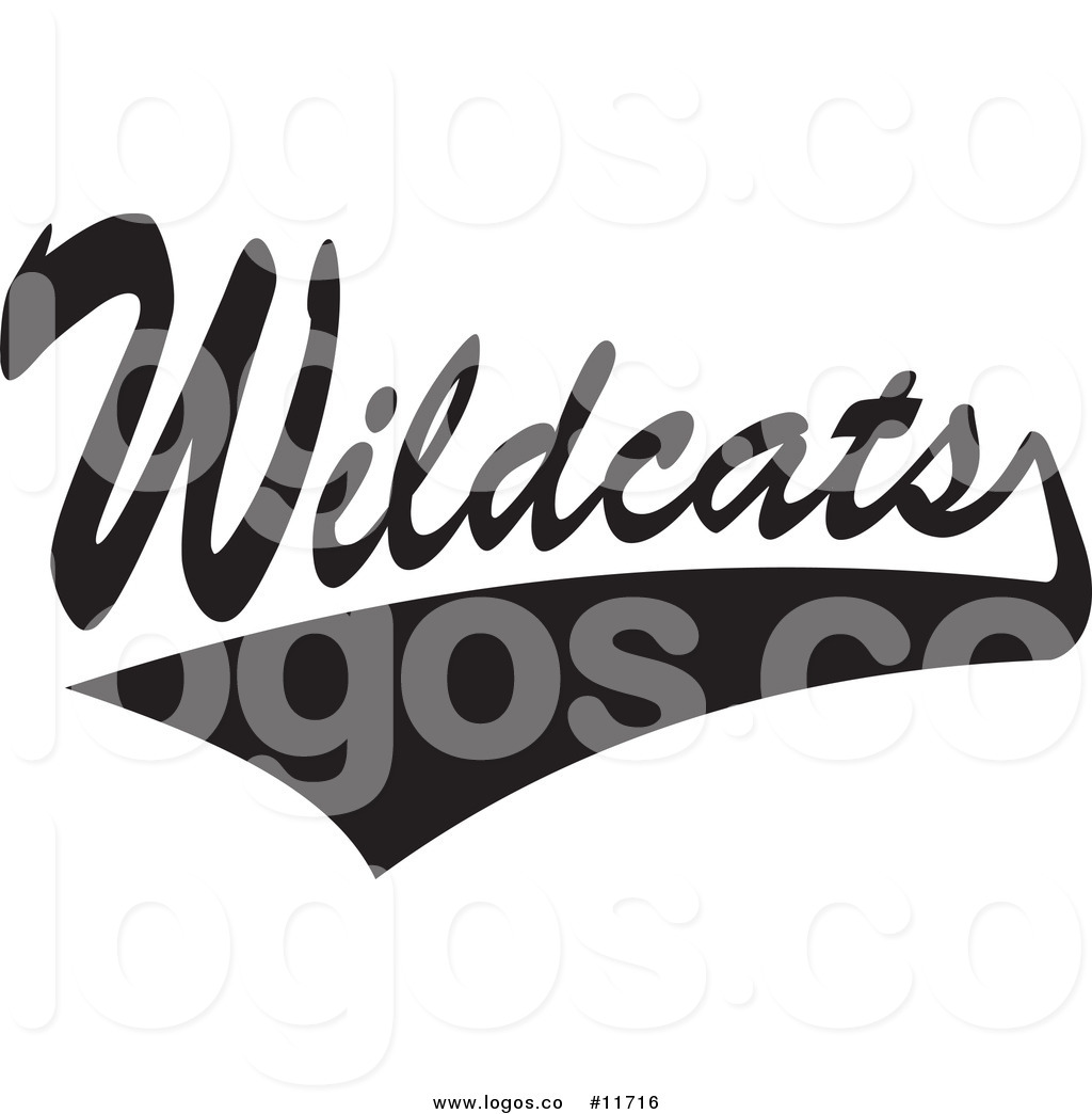 Royalty Free Clip Art Vector Logo of a Black and White Tailsweep and.