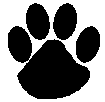 Free Wildcat Paw Print, Download Free Clip Art, Free Clip Art on.