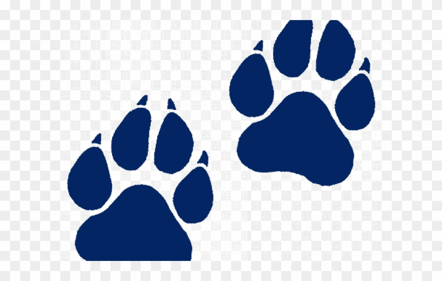 Wildcat Paw Print Transparent Clipart (#1231046).