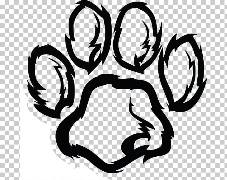 Wildcat Tiger , Wildcat Pawprint PNG clipart.