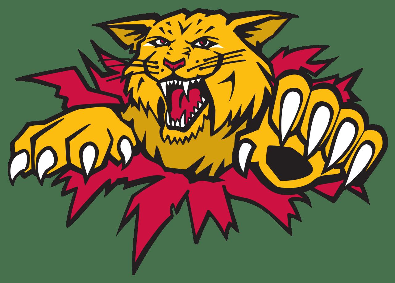 Moncton Wildcats Logo transparent PNG.