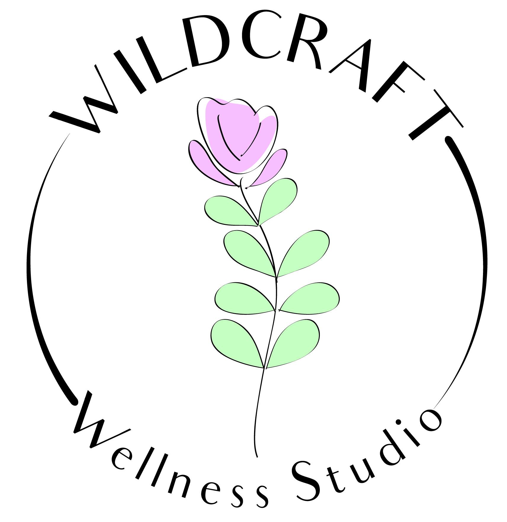 Upmarket, Elegant Logo Design for Wildcraft Wellness Studio.