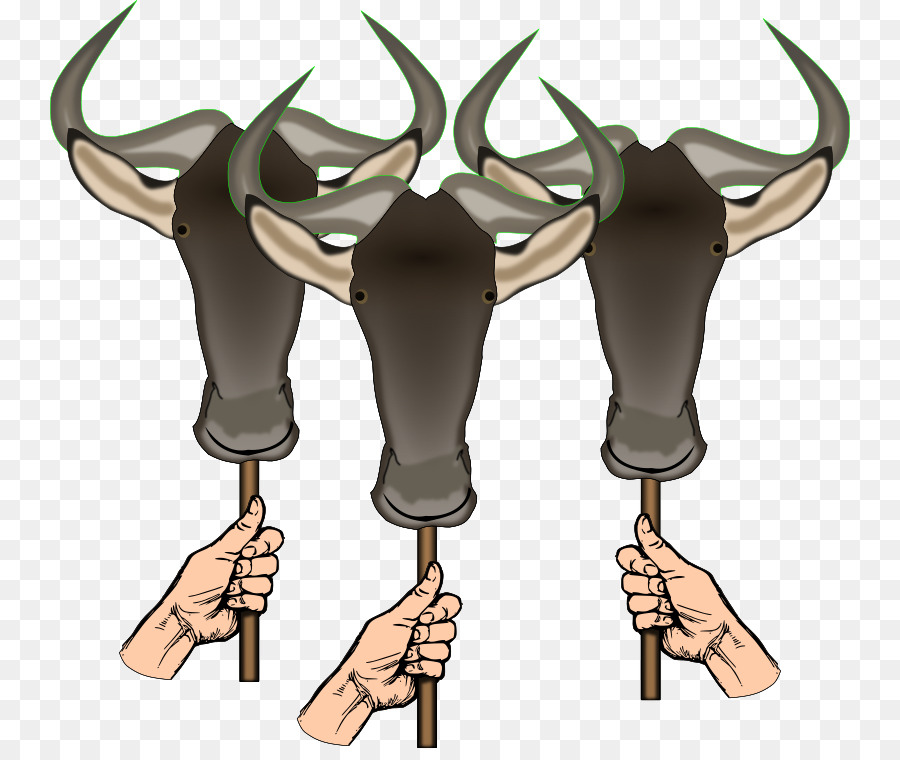 Wildebeest clipart Gemsbok Hartebeest Cattle clipart.