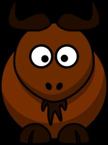 Wildebeest 20clipart.