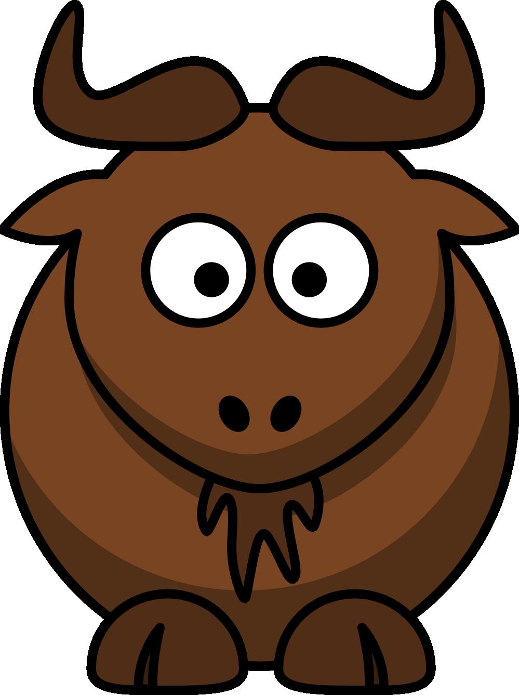 Wildebeest 20clipart #128.