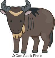 Wildebeest Clipart Vector Graphics. 165 Wildebeest EPS clip art.