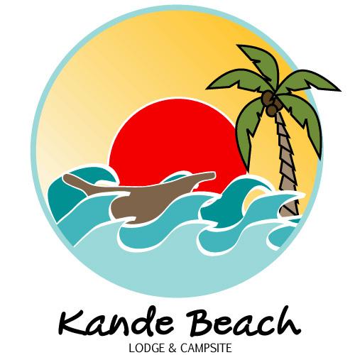 Logo Design for Kande Beach Resort on Behance.