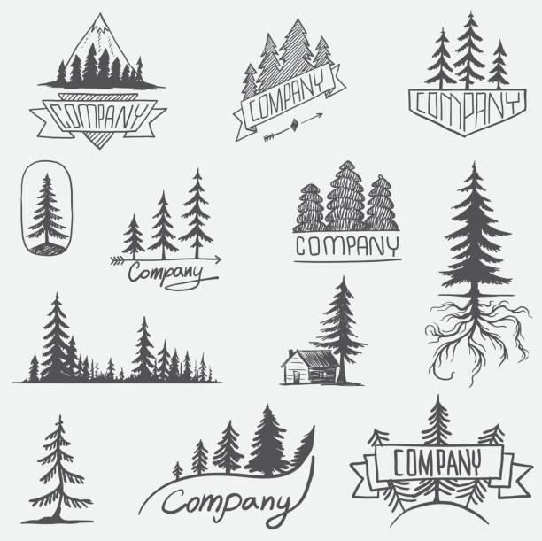 Best Wilderness Illustrations, Royalty.