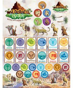 Wilderness Vbs Clipart.